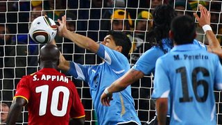 Luis Suarez 2010:  Vile Felon or Resourceful Hero?