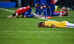 Neymar Post-PKs
