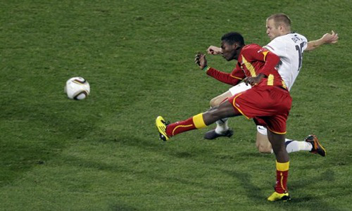 Kevin Prince Boetang scored in just the 5th minute to put the Black Stars ahead in 2006.