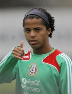 Gionvanni Dos Santos is ready.