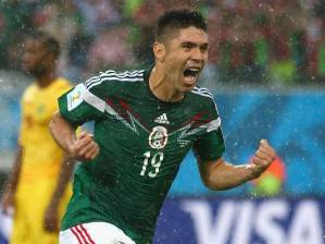 Oribe Peralta thriving even in the downpour.