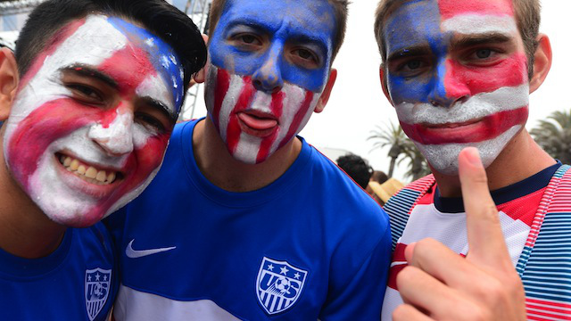 American fans preparing for the knockout stage