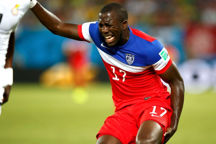 Jozy Altidore injured just 20 minutes into World Cup play against Ghana