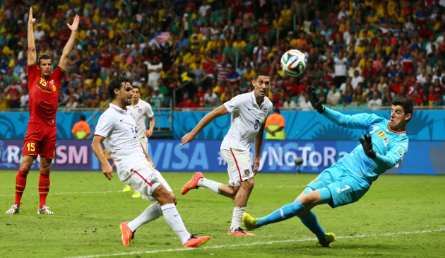 Wondolowski with one final chance at the end of regulation against Belgium