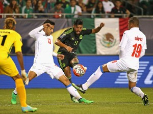 Carlos Vela scoring the 2nd goal of the game