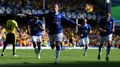 Ross Barkley scoring early and igniting hope for the Toffees.