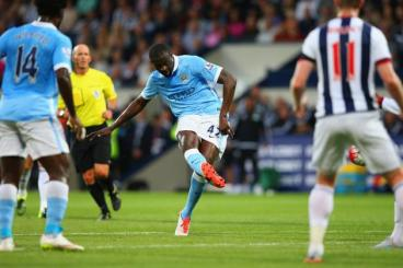 Yaya Toure is an absolute force.
